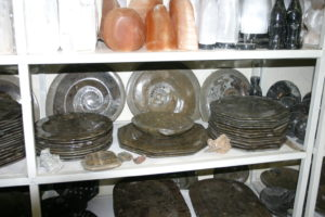 The classical Goniatids and plates of marble